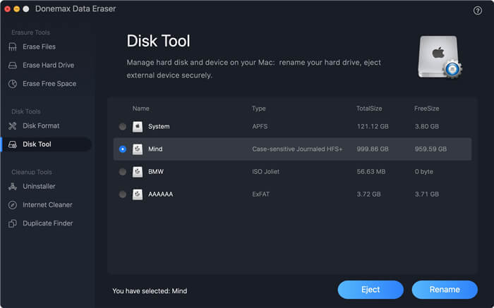 Disk Tool